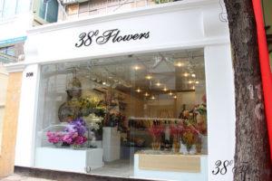 Làm bảng hiệu shop hoa tươi đẹp