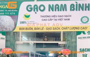 Mẫu bảng hiệu bán gạo đẹp thông dụng