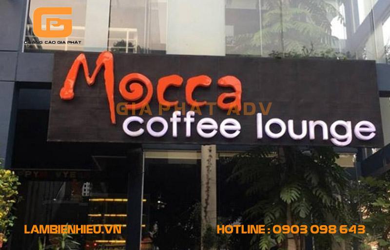 Mẫu biển hiệu quán cà phê đẹp và ấn tượng