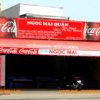 Biển hiệu bạt hiflex coca cola Ngọc Mai Quán
