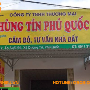 Biển bạt hiflex Hùng Tín Phú Quốc