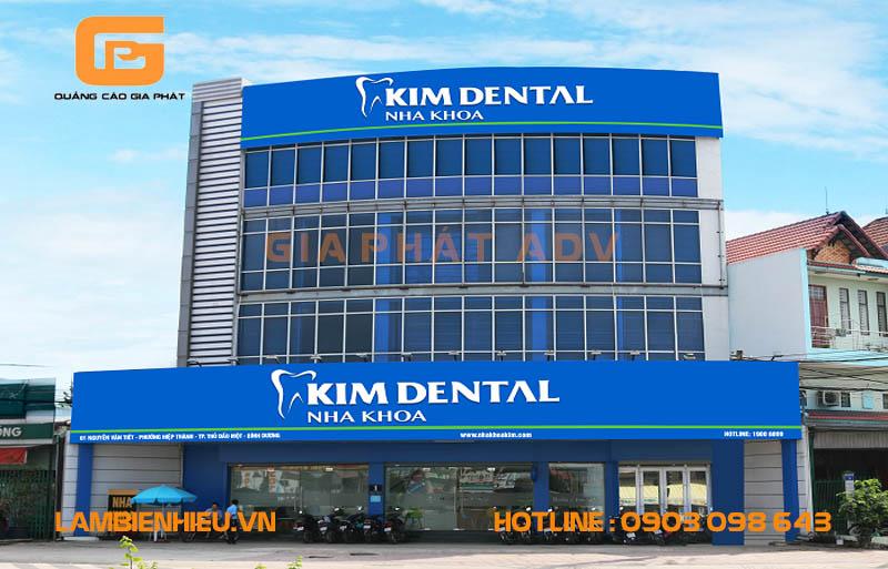 Biển hiệu quảng cáo nha khoa phòng khám răng đẹp