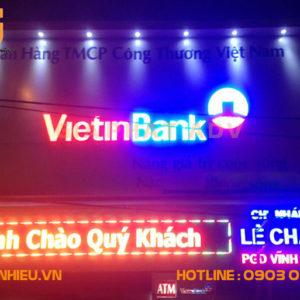 Mẫu biển hiệu quảng cáo điện tử led đẹp