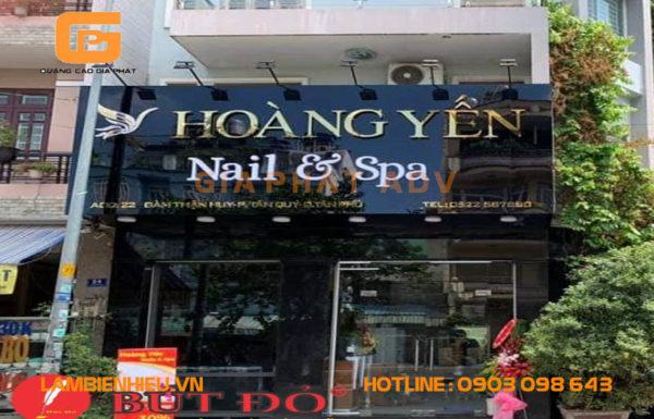 Mẫu biển hiệu tiệm nails đẹp