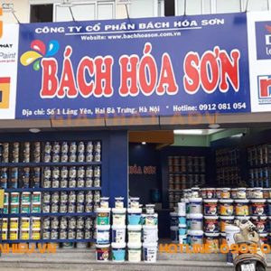 Mẫu bảng hiệu cửa hàng đẹp và ấn tượng giúp thu hút khách hàng