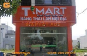 Mẫu bảng hiệu siêu thị mini đẹp