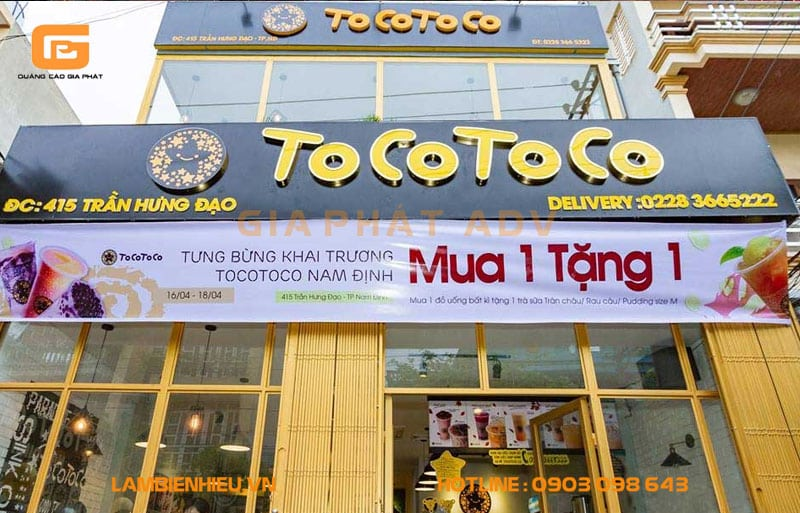 Quán trà sữa ToCo ToCo