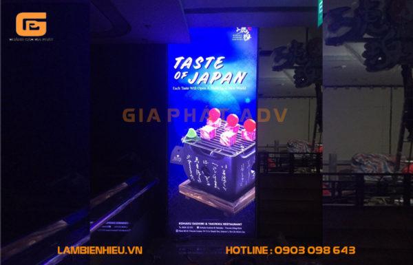 Standee quảng cáo quán Taste Of Japan