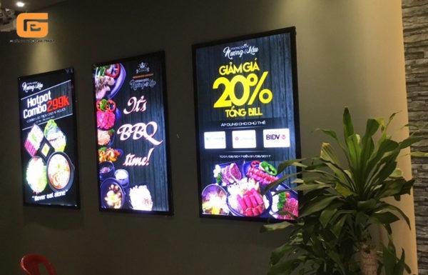 Hộp đèn quảng cáo siêu mỏng HDSM-29012021